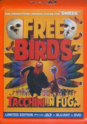 Tacchini in fuga (2013) (Blu-ray 3D (+2D) + DVD)
