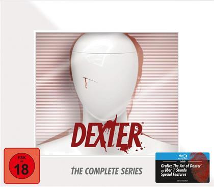 Dexter - Komplette Serie (Dexter büste, 35 Blu-rays)