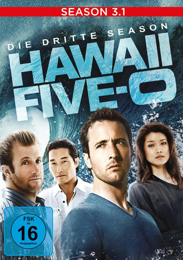 Hawaii 5-0 - Staffel 3.1 (2010) (3 DVDs)