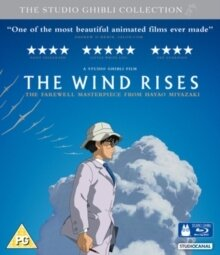 The Wind Rises - Kaze Tachinu (2013) (Blu-ray + DVD)
