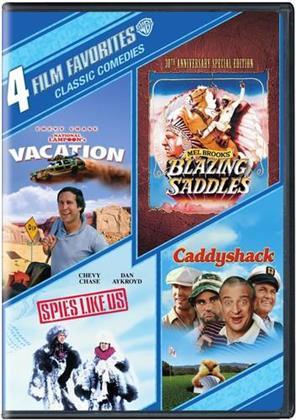 Classic Comedies - 4 Film Favorites (4 DVDs)