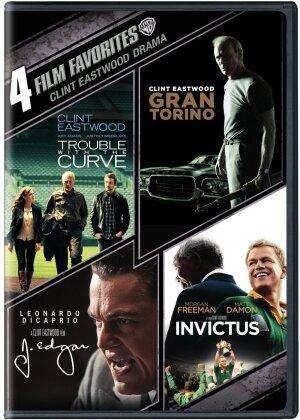 Clint Eastwood Drama - 4 Film Favorites (4 DVDs)
