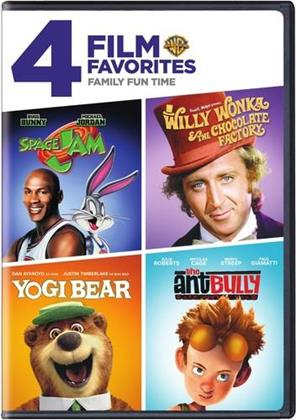 Family Film Fun Time - 4 Film Favorites (4 DVDs)