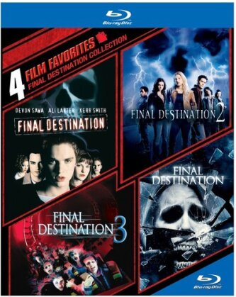 Final Destination Collection - 4 Film Favorites (4 Blu-rays)