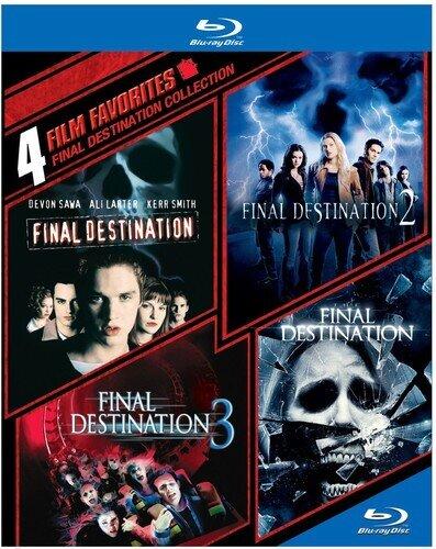 Final Destination Collection - 4 Film Favorites (4 Blu-rays)