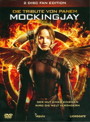 Die Tribute von Panem 3 - Mockingjay - Teil 1 (2014) (Fan Edition, 2 DVDs)
