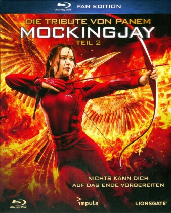 Die Tribute von Panem 4 - Mockingjay - Teil 2 (2015) (Fan Edition, Digibook)