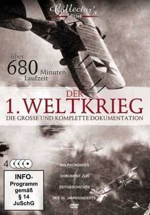 Der 1. Weltkrieg - Die grosse und komplette Dokumentation (Steelbook, 4 DVD)