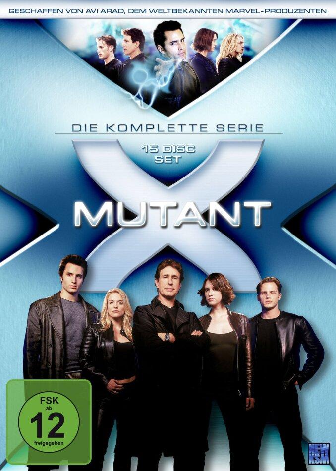 Mutant X - Die komplette Serie - Staffel 1-3 (15 DVDs)