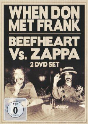 Captain Beefheart & Frank Zappa - When Don met Frank - Beefheart vs. Zappa (Inofficial, 2 DVDs)