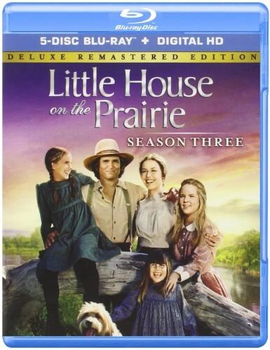 Little House on the Prairie - Season 3 (Deluxe Edition, Versione Rimasterizzata, 5 Blu-ray)
