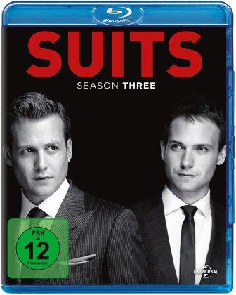 Suits - Staffel 3 (4 Blu-rays)