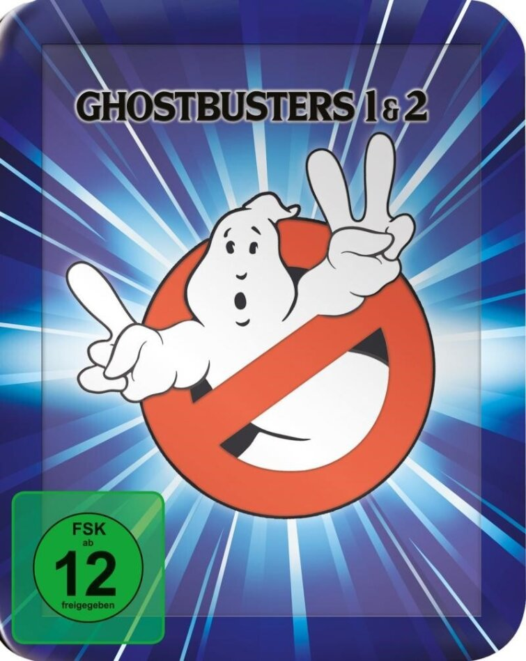 Ghostbusters 1 & 2 (Steelbook, 2 Blu-rays)