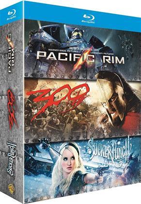 Pacific Rim / 300 / Sucker Punch (3 Blu-rays)