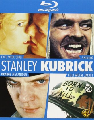 Stanley Kubrick - Eyes Wide Shut / Shining / Orange mécanique / Full Metal Jacket (4 Blu-rays)