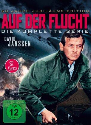 Auf der Flucht - Die komplette Serie (s/w, 32 DVDs)