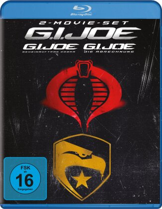 G.I. Joe: Geheimauftrag Cobra / G.I. Joe 2: Die Abrechnung (2 Blu-rays)