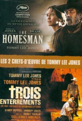 The Homesman (2014) / Trois enterrements (2005) (2 DVDs)