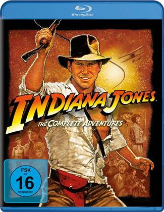 Indiana Jones - The Complete Adventures (4 Blu-rays)
