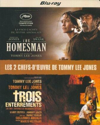 The Homesman (2014) / Trois enterrements (2005) (2 Blu-rays)