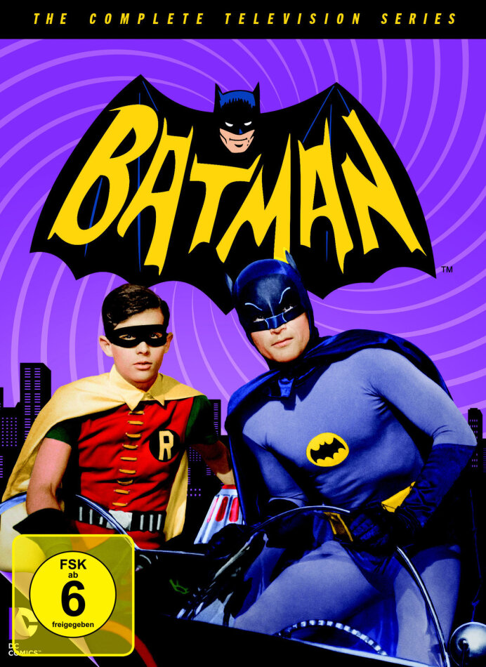 Batman - Die komplette TV-Serie (18 DVDs)