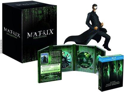 Matrix - La Trilogie (+ Figurine, Limited Edition, 3 Blu-rays + 5 DVDs)