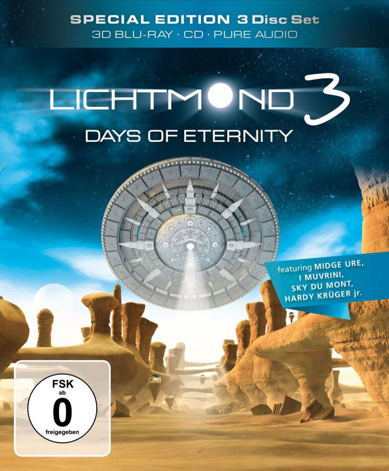 Lichtmond 3 - Days of eternity (Special Edition, Blu-ray 3D (+2D) + CD + Blu-ray)