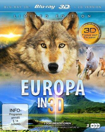 Europa in (3 Blu-ray 3D (+2D))