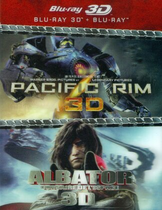 Pacific Rim 3D / Albator 3D - Corsaire de l'espace (2 Blu-ray 3D + 2 Blu-ray)