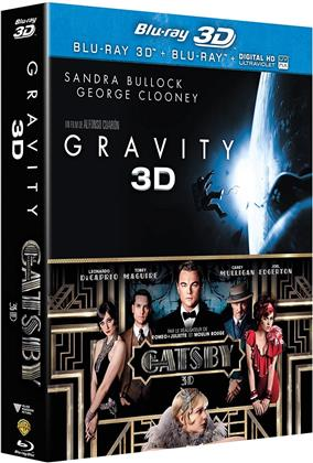 Gravity 3D (2013) / Gatsby le magnifique 3D (2013) (2 Blu-ray 3D (+2D))