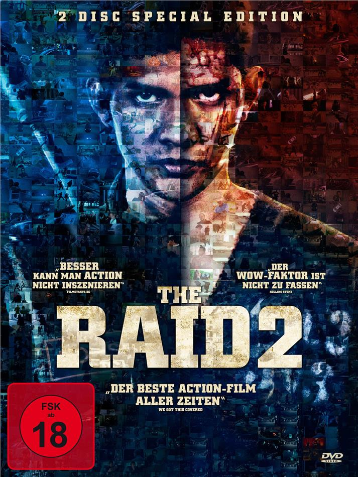 The Raid 2 (2014) (Special Edition, 2 DVDs)