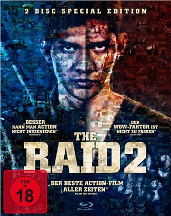 The Raid 2 (2014) (Ungeschnittene Kinofassung, Special Edition, 2 Blu-rays)