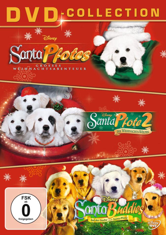Santa Pfotes grosses Weihnachtsabenteuer / Santa Pfote 2 / Santa Buddies (3 DVDs)