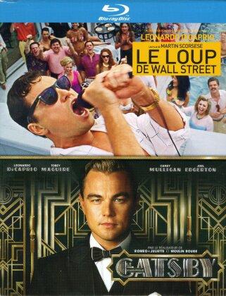 Le Loup de Wall Street (2013) / Gatsby le magnifique (2013) (2 Blu-rays)