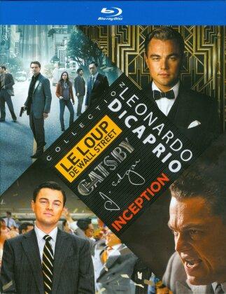 Leonardo DiCaprio Collection - Le loup de Wall Street / Gatsby le magnifique / J. Edgar / Inception (4 Blu-ray)