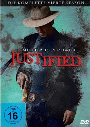 Justified - Staffel 4 (3 DVDs)
