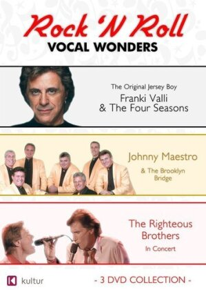 Various Artists - Rock 'N Roll Vocal Wonders (3 DVDs)