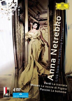 Anna Netrebko - Live from the Salzburg Festival (Unitel Classica, Salzburger Festspiele, Deutsche Grammophon)