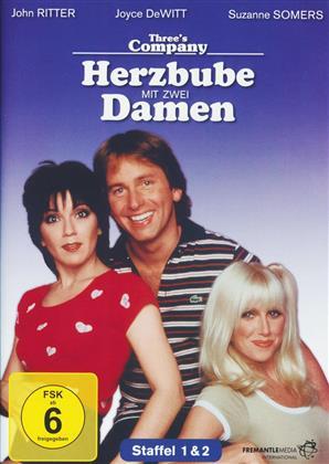 Three's Company - Herzbube mit zwei Damen - Staffel 1 & 2 (5 DVDs)