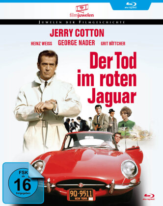 Jerry Cotton - Der Tod im roten Jaguar (Filmjuwelen) (1968)