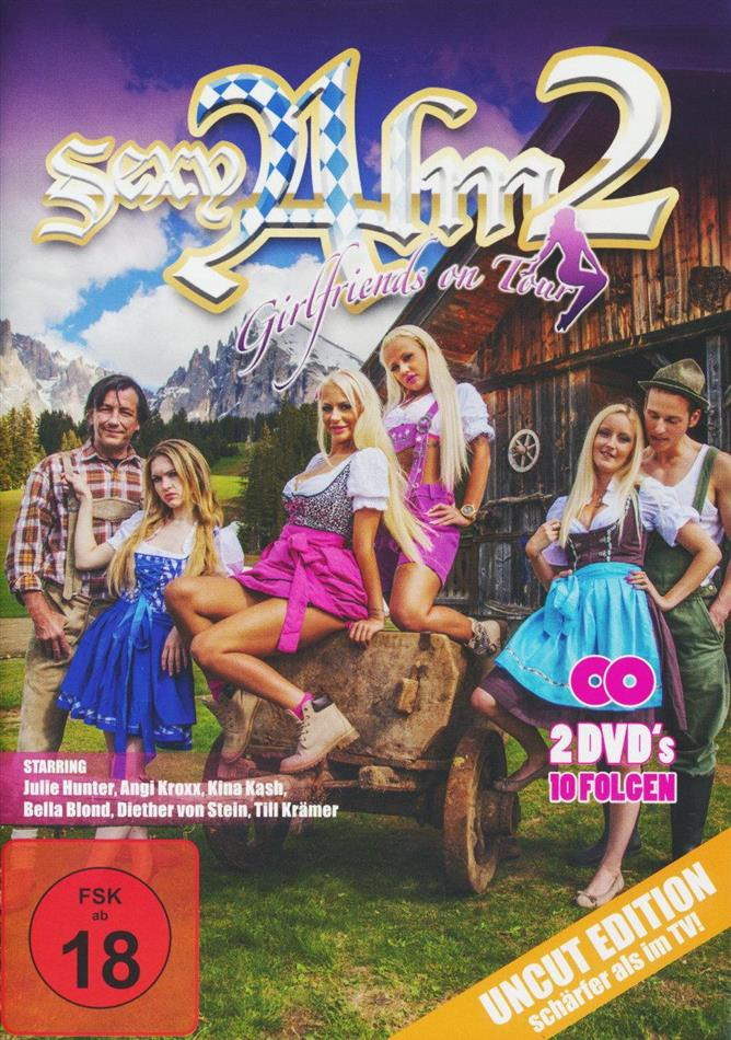 Sexy Alm - Girlfriends on Tour - Staffel 2 (Uncut, 2 DVDs