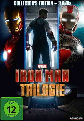 Iron Man Trilogie (Collector's Edition, 3 DVDs)