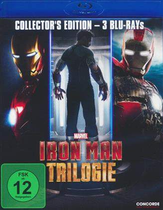 Iron Man Trilogie (Collector's Edition, 3 Blu-ray)
