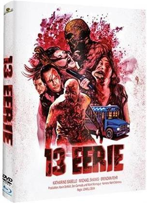 13 Eerie - We prey for you (2013) (Cover B, Limited Edition, Mediabook, Uncut, Blu-ray + DVD)