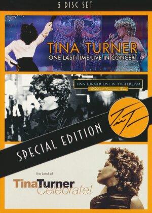 Tina Turner - One Last Time / Celebrate! / Live In Amsterdam (3 DVD)