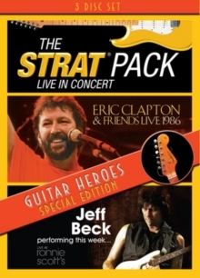 The Strat Pack, Eric Clapton & Jeff Beck - Guitar Heroes Special Edition (3 DVDs)