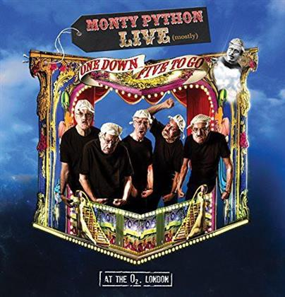 Monty Python - Live (mostly) - One down, Five to go (Deluxe Edition, DVD + Blu-ray + 2 CD)