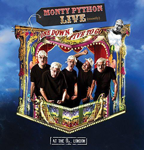 Monty Python - Live (mostly) - One down, Five to go (Deluxe Edition, DVD + Blu-ray + 2 CDs)