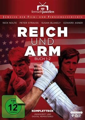 Reich und Arm - Staffel 1 & 2 - Buch 1 & 2 (Fernsehjuwelen, Remastered, Uncut, 9 DVDs)