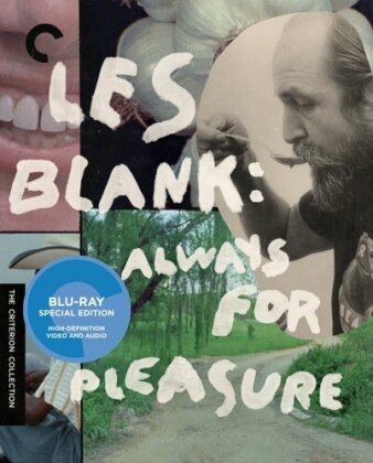 Les Blank: Always for Pleasure (Criterion Collection, 3 Blu-rays)